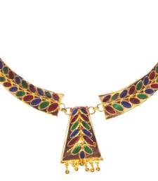 Handmade Ethnic Indian Assamese Jewellery - Dhansira Pepa Haar Set shop online