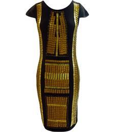 Buy  Fully Stone Hand Work Black Dress dress online
