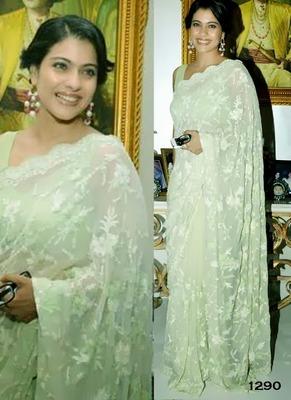 Kajol heavy saree