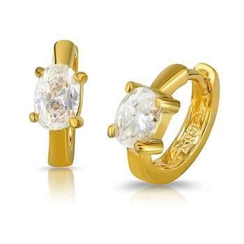Mahi Gold Plated Pure Exuberance Earrings