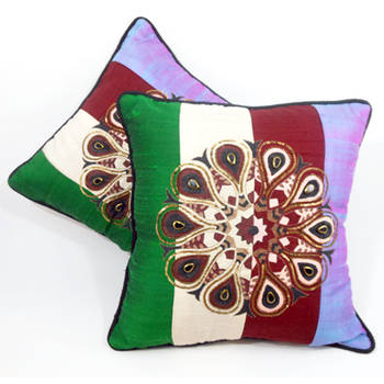 Colorful Ethnic Cushion Cover