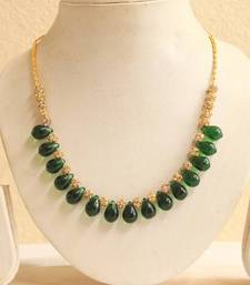 Beautiful Handmade Green Necklace