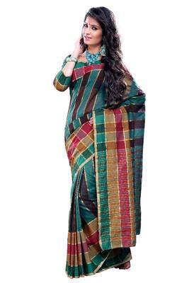 ISHIN Cotton Multicolor sarees MFCS-Shirali