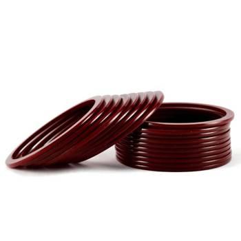 acrylic bangles colour maroon size-2.4,2.6,2.8,2.10