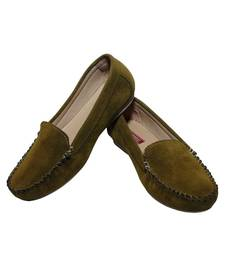 Buy Olive-gn richiee  moccasins shoes Shoe online