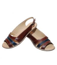 Buy Brown richiee  sandals shoes Shoe online