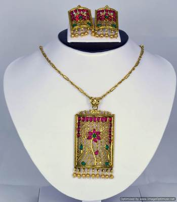 Diwali Collection Necklace Set 19