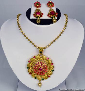 Diwali Collection Necklace Set 25