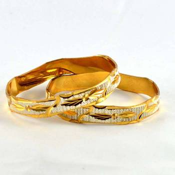 micro gold silverd platted bangles size-2.4,2.6,2.8