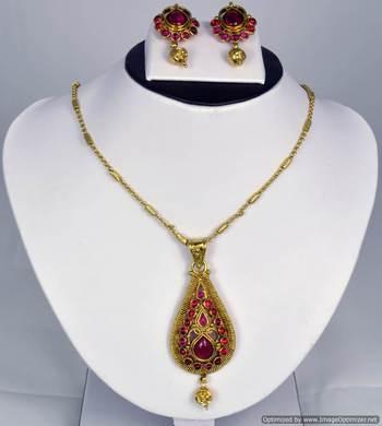 Diwali Collection Necklace Set 42