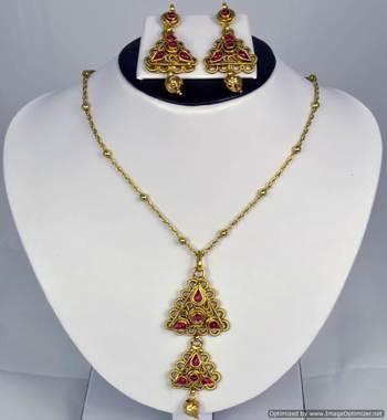 Diwali Collection Necklace Set 47