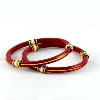 acrylic bangles size-2.4,2.6,2.8'