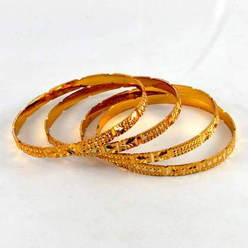 micro gold silverd platted bangles size-2.4,2.6,2.8''