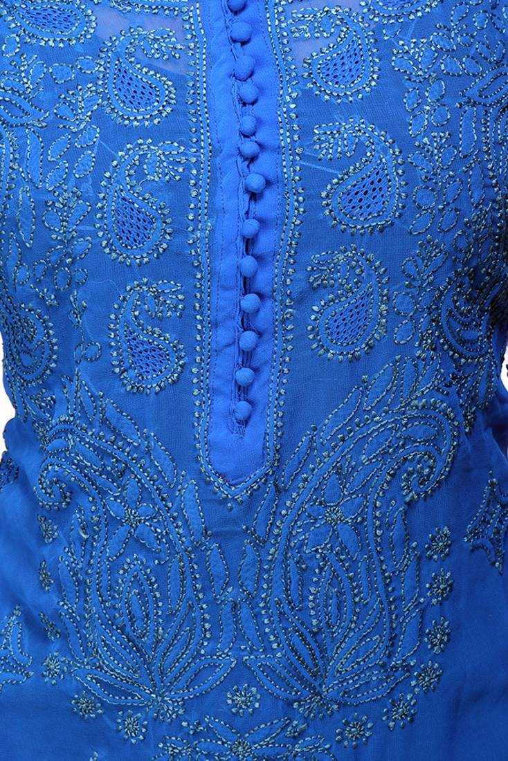 Buy Ada Handcrafted Exclusive Small Royal Blue Faux