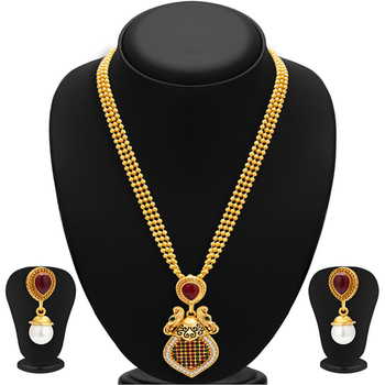 Incredible Gold Plated Necklace Set For Women