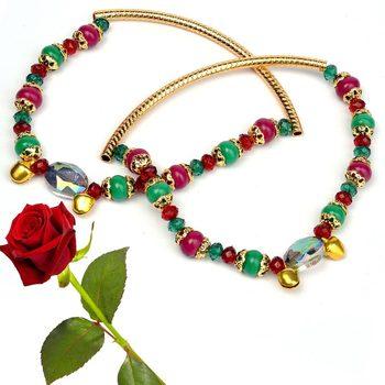 Alluring Ethnic Brass Payal Anklet Valentine Gift