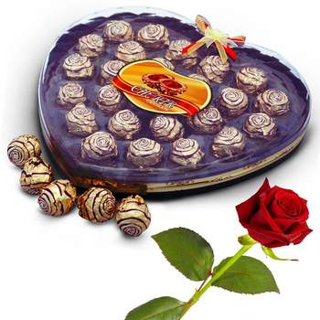 Cherir 24 Pc. Chocolaty Wafer Balls Valentine Gift