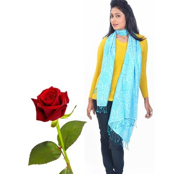 Paisley Design Pure Kashmiri Stole Valentine Gift