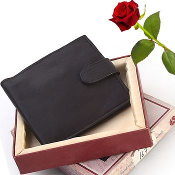 Stylish Genuine Pure Leather Wallet Valentine Gift