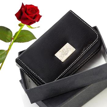 Pure Leather Men Credit Card Holder Valentine Gift