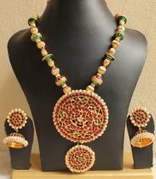 Lovely Kemp Designer Temple Necklace Set
