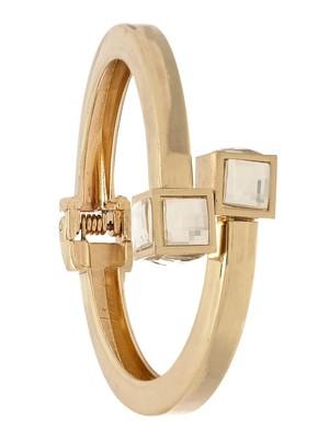 Gold Glam Square Stud Cuff