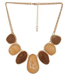 Earthy Hues Statement Necklace