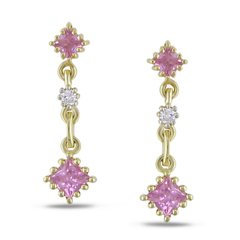 Yellow Gold Plated Earring