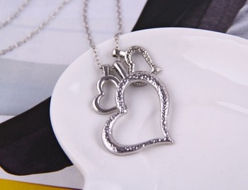 Three heart Neckpiece