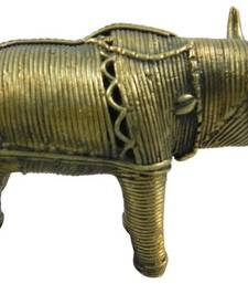 Buy Brass bull home-furnishing sculpture online