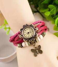 Buy LS Designer Bracelet Watch-Pink watch online