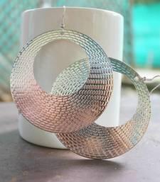 Buy Silver hoop earring hoop online