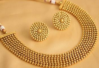 Gorgeous Antique Designer Necklace Set