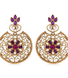 Buy Strike a statement whereever you go with Inaya Ethnic Festive Fashion Earrings danglers-drop online