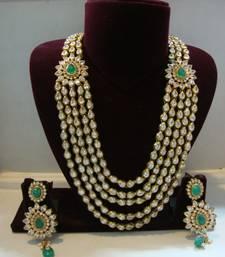 Beautiful multicolor jewellery necklace-set