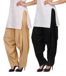 Buy Combo Pack Pure Cotton Semi Patiala Bottoms patialas-pant online