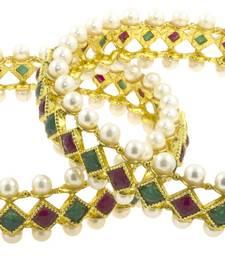 Buy Gold Cubic Zirconia bangles-and-bracelets bangles-and-bracelet online