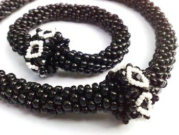 Night sky - Necklace and Bracelet