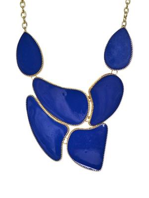 Royal Blue Bold Uneven Neckpiece