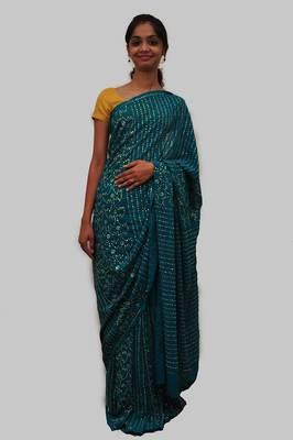Shimmer Saree