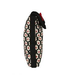 Buy Black and Red canvas mobile pouch sling-bag online