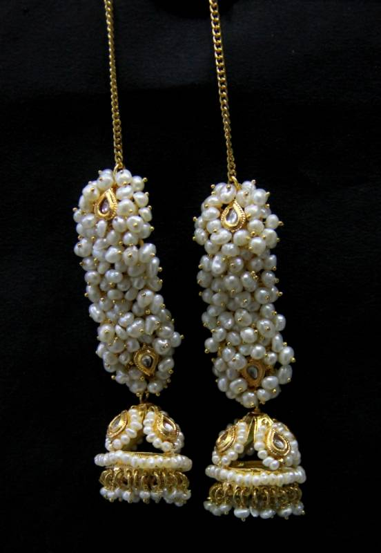 Buy Real Fresh Water Pearls Big Jhumka Online
