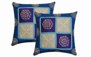 Blue Cushion Cover- set of 2
