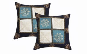 Gold Print Cushion Cover- Set of 2