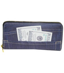 Buy Blue wallets wallet online