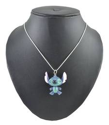 Buy ANGEL GLTTER BLUE TINY MINNIE MOUSY PENDANT WITH CHAIN gifts-for-kid online