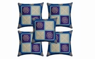 Ethnic Cushion Cover-Set of 5