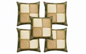 Traditional Jaipuri Cushion Cover-Set of 5