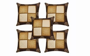 Furniture Matching Cushion Cover-set of 5