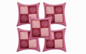 Stunning pink Cushion COver- set of 5